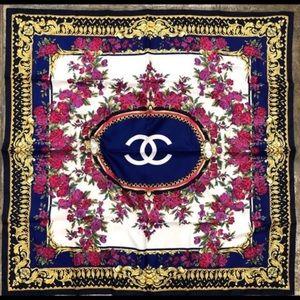 ✨ Vintage Chanel Scarf 100% silk ✨